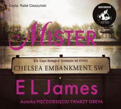 Okładka książki - Mister. Audiobook
