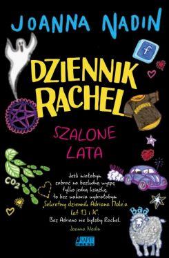 Okładka książki - Dziennik Rachel. Szalone lata
