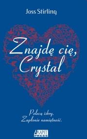 Okładka książki - Znajdę cię, Crystal
