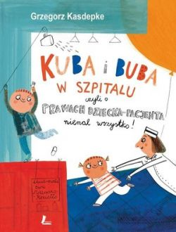 Okładka książki - Kuba i Buba w szpitalu
