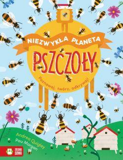 Okładka książki - Niezwykła planeta. Pszczoły