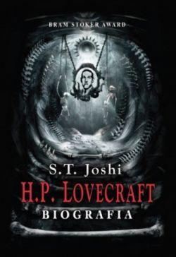 Okładka książki - H.P. Lovecraft BIOGRAFIA