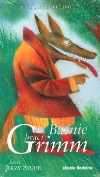 Okładka książki - Baśnie braci Grimm. Audiobook