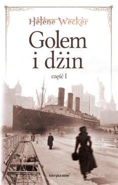 Okładka książki - Golem i Dżin