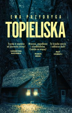 Okładka książki - Topieliska