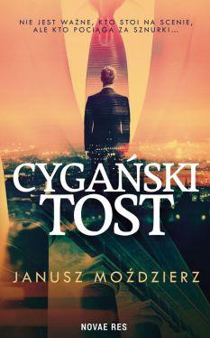 Okładka książki - Cygański tost