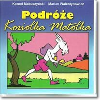 Okładka książki - Podróże Koziołka Matołka