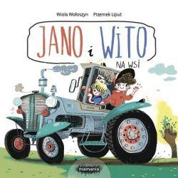 Okładka książki - Jano i Wito. Na wsi