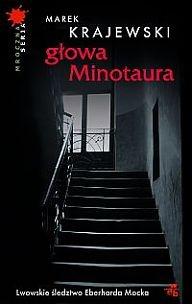 Okładka książki - Głowa Minotaura