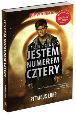 Okładka książki - Jestem Numerem Cztery