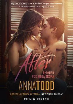 Okładka książki - After, PŁOMIEŃ POD MOJĄ SKÓRA