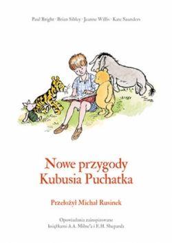 Okładka książki - Nowe przygody Kubusia Puchatka