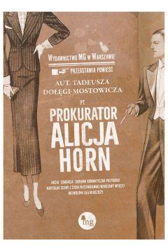 Okładka książki - Prokurator Alicja Horn