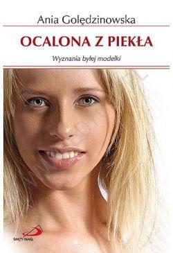 Okładka książki - Ocalona z piekła. Wyznania byłej modelki