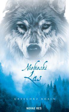 Okładka książki -  Niebieski las