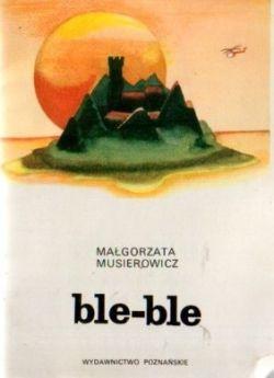 Okładka książki - Ble-ble