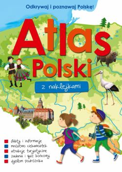 Okładka książki - Atlas Polski z naklejkami