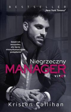Okładka książki - Niegrzeczny manager