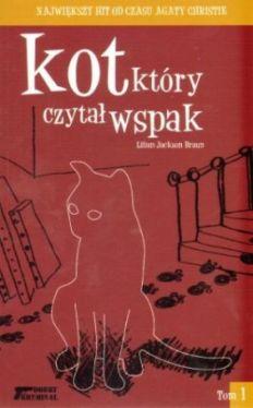 Okładka książki - Kot, który czytał wspak