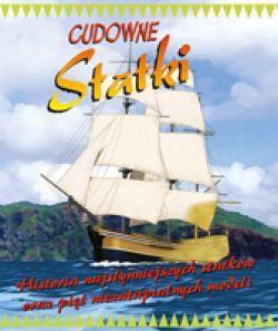 Okładka książki - Cudowne statki