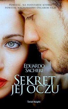 Okładka książki - Sekret jej oczu