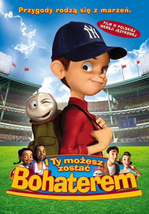 I Ty Możesz Zostać Bohaterem / Everyones Hero (2006) DVDRip Dubbing Pl