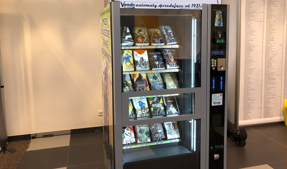 Automat z książkami