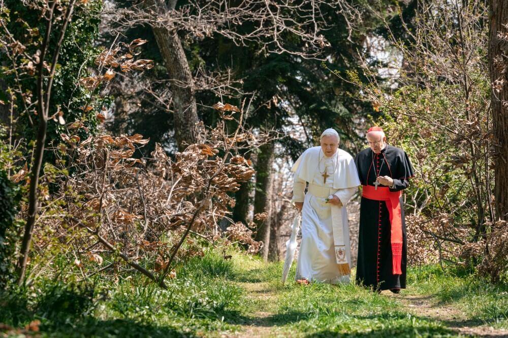 Dwóch papieży Netflix