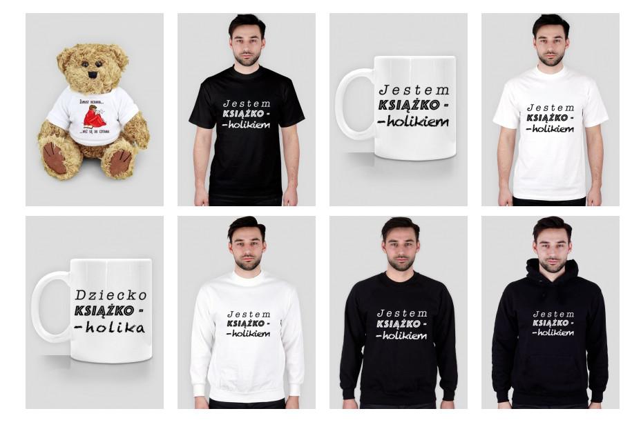 Koszulki z motywami książkowymi