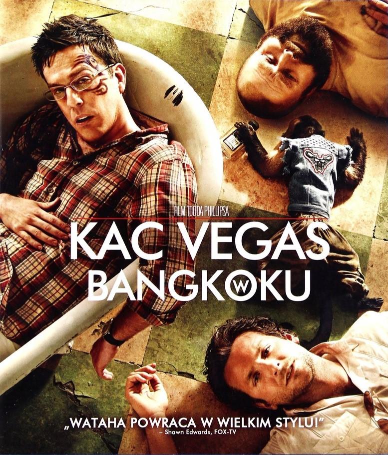 Okładka książki - Kac Vegas w Bangkoku