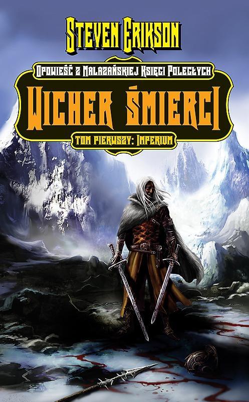 Okładka książki - Wicher śmierci. Imperium. Tom 1