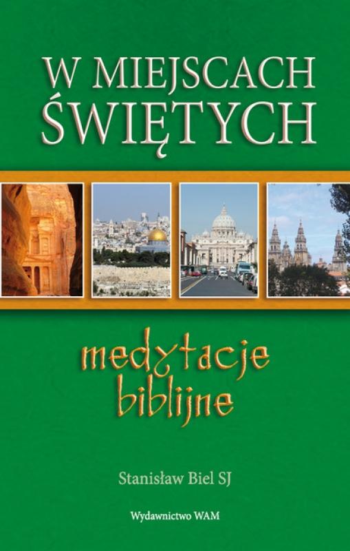 Okładka książki - W miejscach świętych. Medytacje biblijne