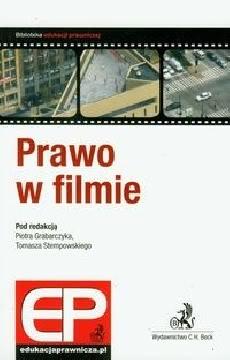 Okładka książki - Prawo w filmie