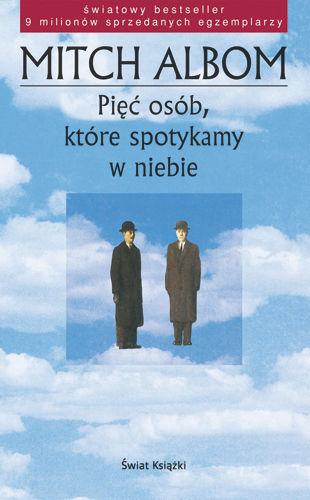 Okładka książki - Pięć osób, które spotykamy w niebie