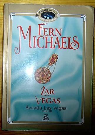 Okładka książki - Żar Vegas