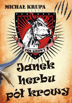Okładka książki -  Janek herbu pół krowy