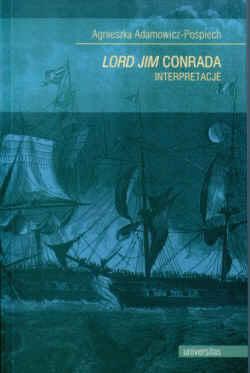 Okładka książki - Lord Jim Conrada. Interpretacje