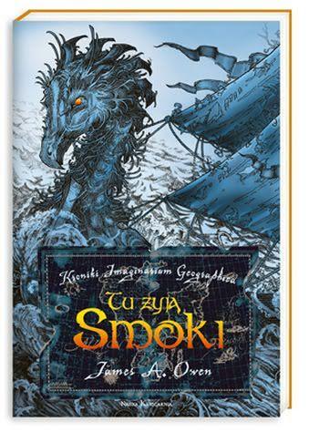 Okładka książki - Kroniki Imaginarium Geographica 1. Tu żyją smoki