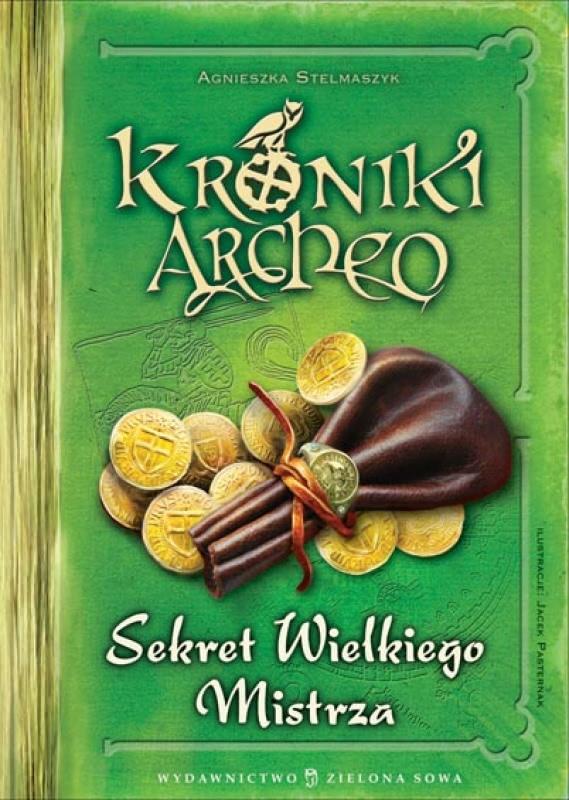 Okładka książki - Kroniki Archeo. Sekret Wielkiego Mistrza