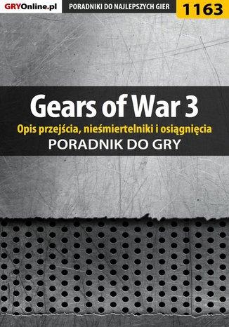 Okładka - Gears of War 3 - poradnik do gry (opis przejścia, nieśmiertelniki, osiągnięcia)