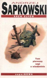 Znalezione obrazy dla zapytania sapkowski krew elfów