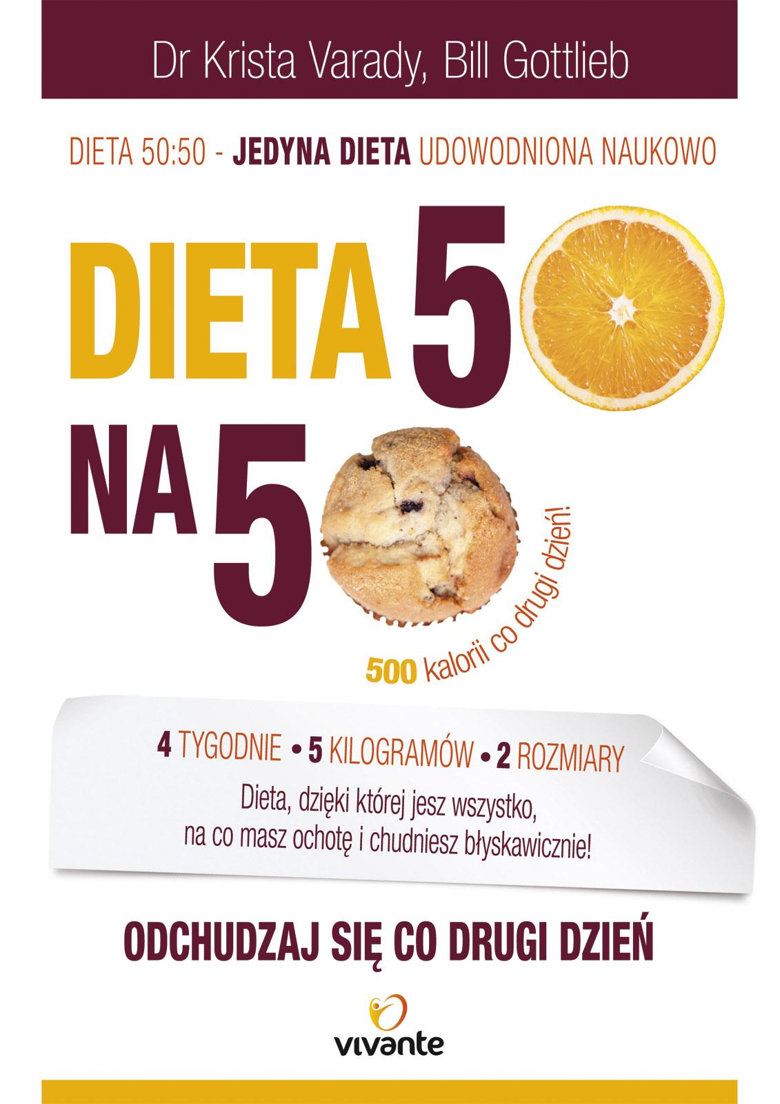 Okładka książki - Dieta 50 na 50