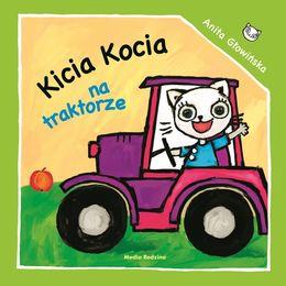 Okładka książki - Kicia Kocia na traktorze