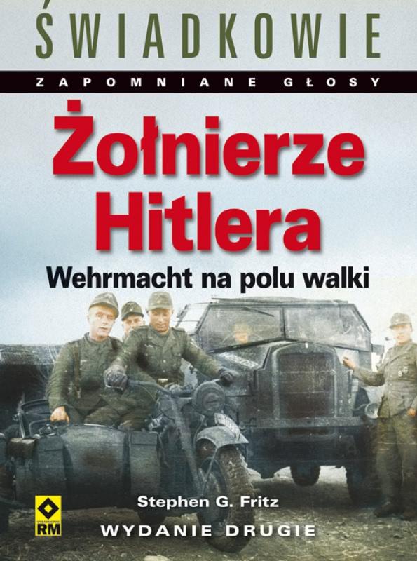 Okładka - Żołnierze Hitlera