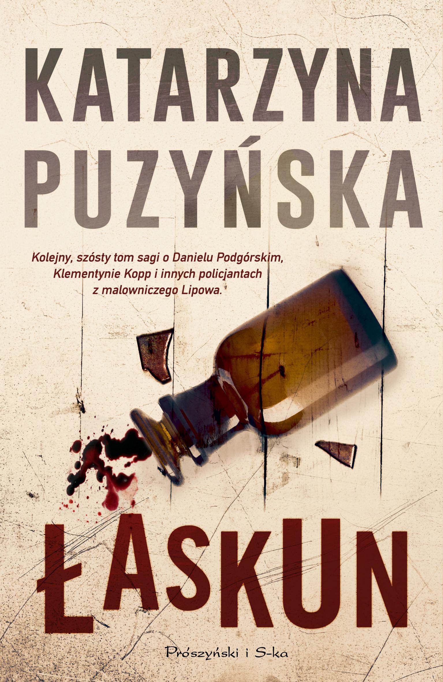 Okładka książki - Łaskun