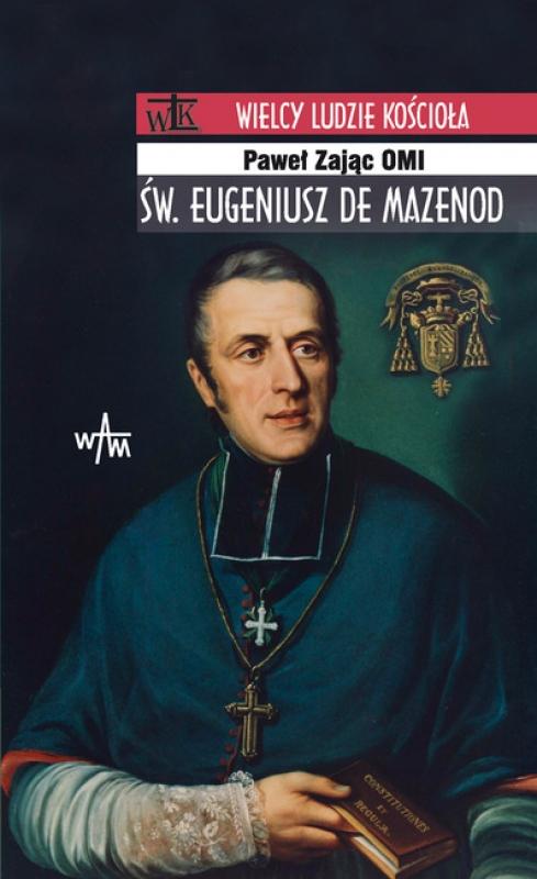 Okładka książki - Św. Eugeniusz de Mazenod