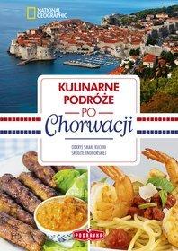 Okładka książki - Kulinarne podróże po Chorwacji