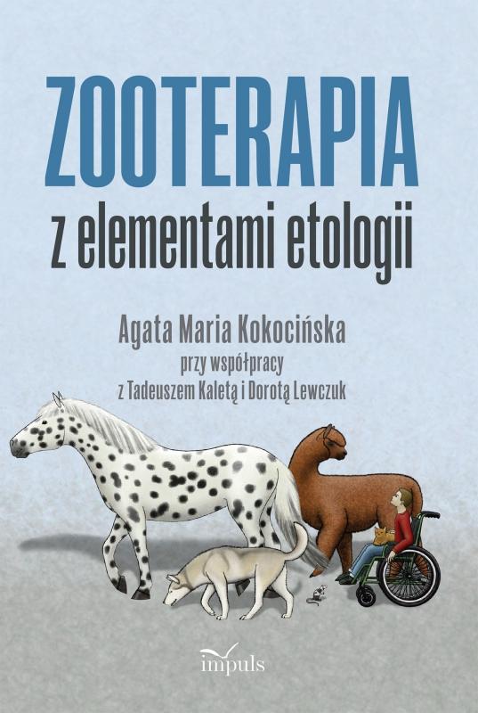 Okładka książki - Zooterapia z elementami etologii