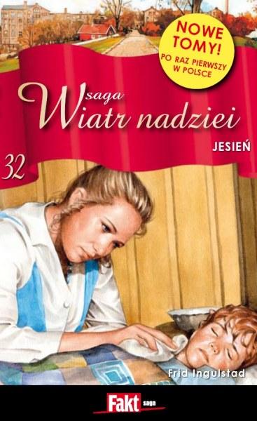 Okładka książki - Saga Wiatr Nadziei 32. Jesień