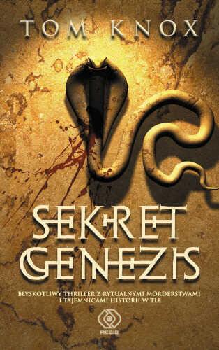 Okładka książki - Sekret Genezis